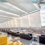 Sistema di schermatura solare Resstende per l'Hotel dei Cavalieri