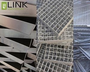 Gamma completa di zincati Link Industries per il drenaggio