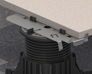 Pedestal Line: complementi per la posa di pavimentazioni sopraelevate