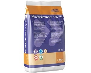 MasterEmaco S 445 FR: malta fibrorinforzata per il ripristino