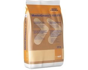 MasterEmaco S 499 FR: malta duttile con fibre HPF