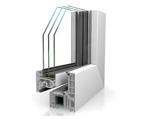 """ARTLINE 82: serramento """"a tutto vetro"""" sostenibile, flessibile e performante"""