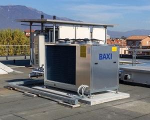 Pompe di calore aria-acqua monoblocco inverter trifase Baxi PBM2-i