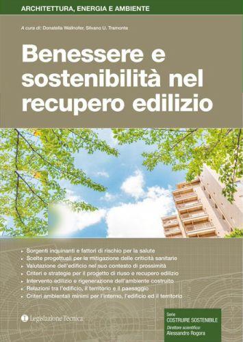 copertina libro Benessere e sostenibilità nel recupero edilizio