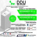 DDU BIM ACADEMY spiega come sviluppare un progetto in BIM