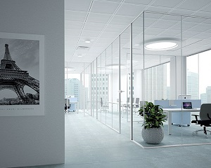 Sistema di pareti divisorie vetrate Glass Partition