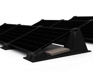 Sistema di montaggio moduli FV BISOL EasyMount™ Elegant HDPE 200