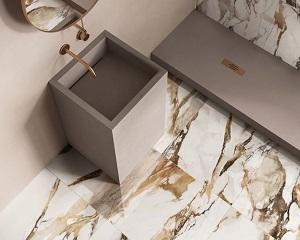 9Cento: lastre in gres porcellanato effetto marmo
