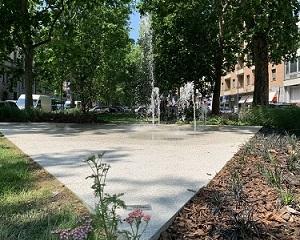 Un nuovo angolo verde nasce in Viale Jenner, grazie a Mapei