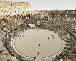 Nuovo piano arena del Colosseo: ecco il progetto