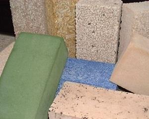 Bioblocco: blocco per muratura realizzato con inerti vegetali di scarto