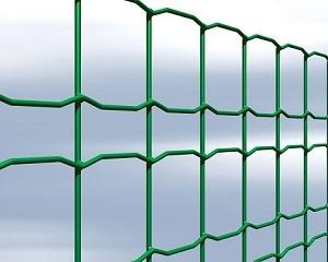 Rete per recinzione in filo metallico e rete zincata