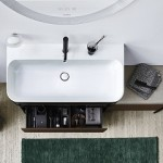 c-shaped: soluzioni lavabo per esigenze elevate