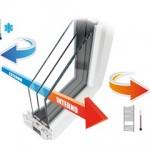 Serramenti ad alta efficienza termica con il sistema Thermix WinUW