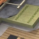 Hardrock Energy Plus: pannello in lana di roccia per coperture inclinate