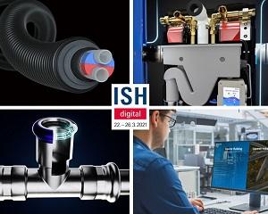 Uponor all'ISH digitale 2021: innovazioni per reti locali, teleriscaldamento e impianti sanitari