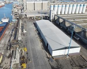 Tensostrutture Kopron: massima qualità al porto di Ravenna