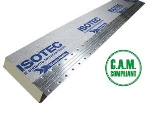 Isotec Linea: il sistema di isolamento termico per coperture e facciate non ventilate