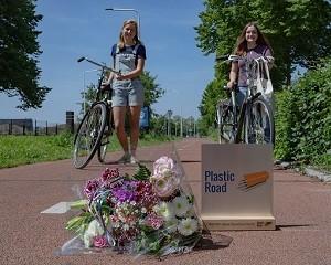 1 milione di attraversamenti su PlasticRoad, la pista ciclabile in plastica riciclata