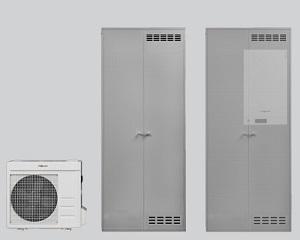 Pompe di calore a incasso Vitocal 100-A Kit Compact e Compact Hybrid