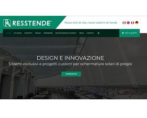 Resstende anticipa il nuovo headquarter partendo dal web