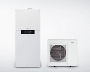 Sistema ibrido per riscaldamento e raffrescamento Vitocaldens 222-F