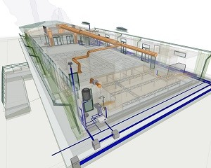 BIM e principi nZEB per dare forma a un'innovativa sala polifunzionale