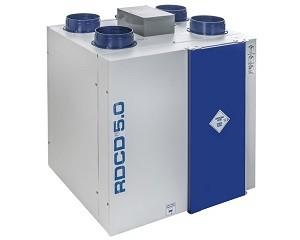 VMC centralizzata residenziale: sistema di ventilazione con controllore wireless