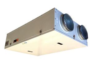 VMC centralizzata residenziale: sistema di ventilazione con controllore cablato
