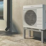 Pompa di calore aria acqua Vitocal 100-A per installazione esterna