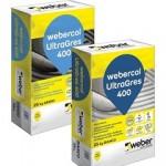 Webercol UltraGres 400: adesivo cementizio
