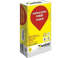 Weberplan MR81 metal: massetto pronto ad essiccazione medio-rapida