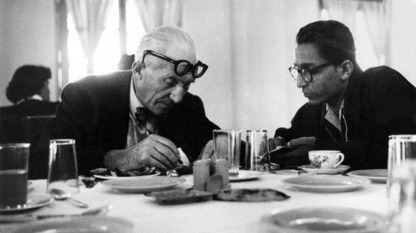 Un maestro d'eccezione per il giovane Balkrishna Doshi: Le Corbusier.