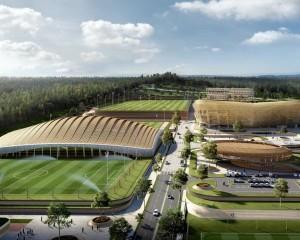 Un nuovo centro sportivo all'avanguardia per il calcio coreano