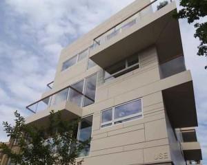Nuovo edificio nel quartiere Hackney a Londra
