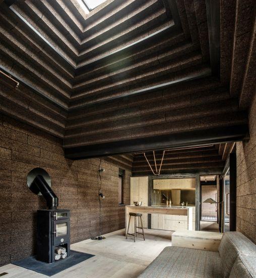 cork house progetto vincitore Wood award 2019