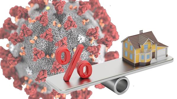 Coronavirus e calo dei mutui