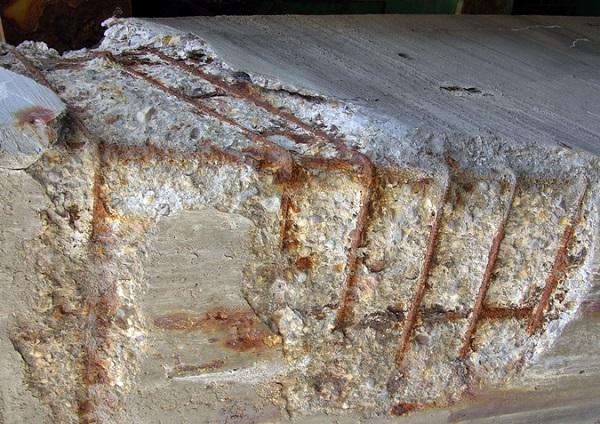Corrosione dei ferri di armatura