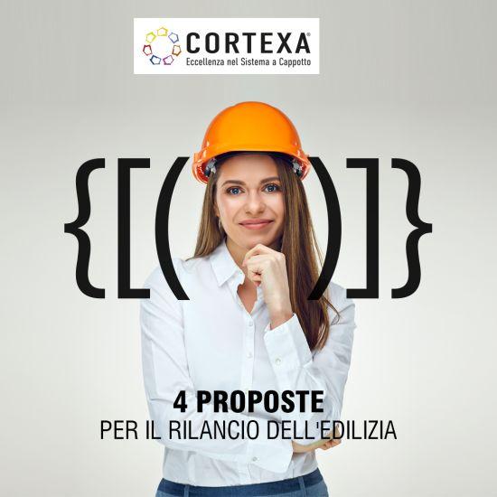 Le 4 proposte di Cortexa per rilanciare l'edilizia e superare l'emergenza coronavirus