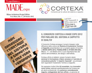 Consorzio Cortexa a Made Expo 2012