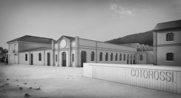 Ex Cotorossi- Vista di progetto area monumentale