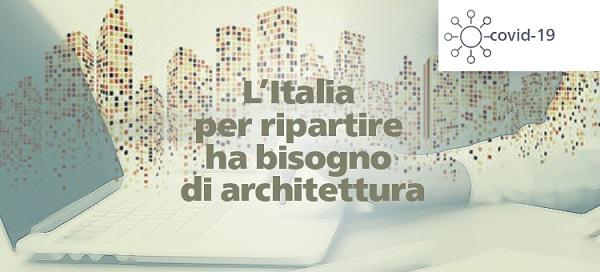 L'architettura per far ripartire l'italia