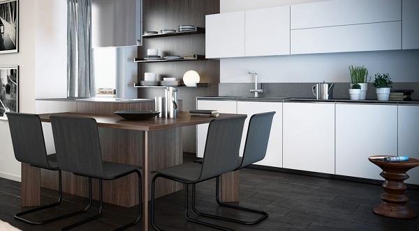 Fara18 - cucina all'interno di un'unità immobiliare