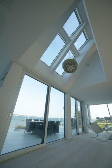 Finestre da tetto FAKRO in una casa in Danimarca