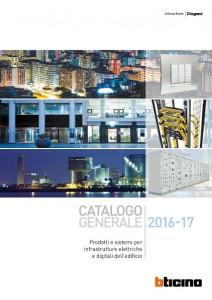 Sistemi BTicino e Legrand  per le infrastrutture elettriche e digitali dell'edificio 1