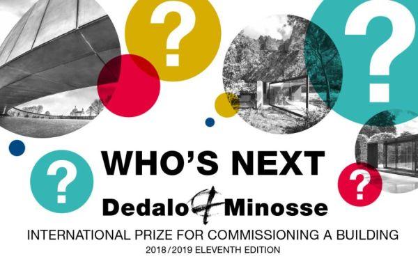 Al via l'11 edizione del Premio Dedalo Minosse