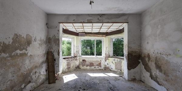 Edificio degradato