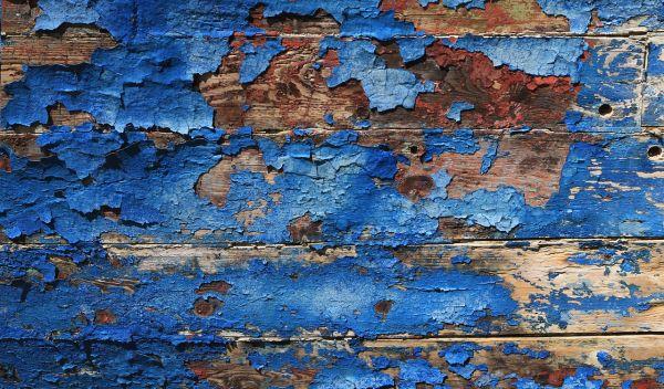 degrado del legno