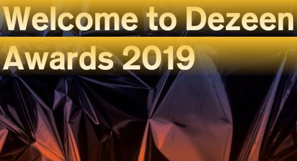 Dezeen Awards 2019, concorso internazionale per le migliori architetture del mondo