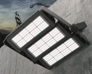 Versione a LED del proiettore Forum per stadi, aeroporti, stazioni